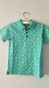 Tiffosi polo Seoul kleur: mint  110
