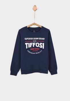 Tiffosi sweater Thomas donker blauw   104