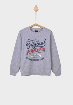 Tiffosi sweater Thomas grijs  140