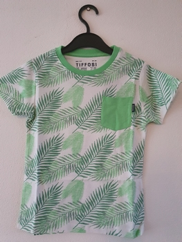 Tiffosi t-shirt Board groen  164
