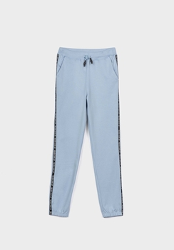 Tiffosi joggingsbroek sweatpants  Brown licht blauw  176/XS